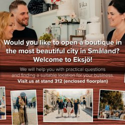 Open a boutique in Eksjö! - Zweden/Sweden