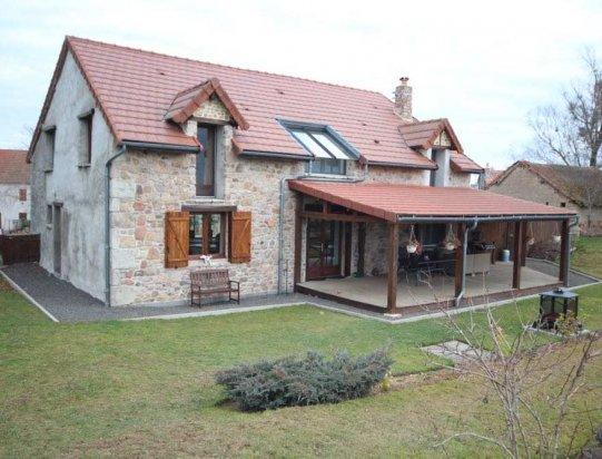 Leuk gerenoveerd huis met panoramisch uitzicht frankrijk france